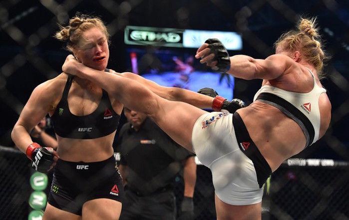 1 Ronda Rousey