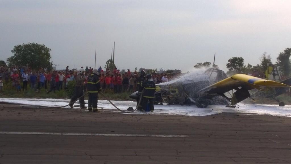 2 Avião cai, explode e uma pessoa morre carbonizada em Balsas