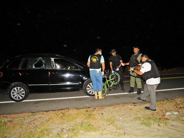 3 Criança em bicicleta morre após colisão com carro, no Macapá