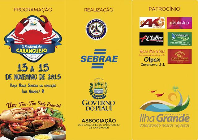 3 Festival do Caranguejo