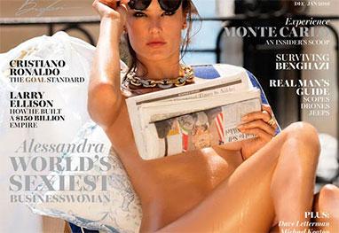5 Modelo Alessandra Ambrósio posa totalmente sem roupa em ensaio