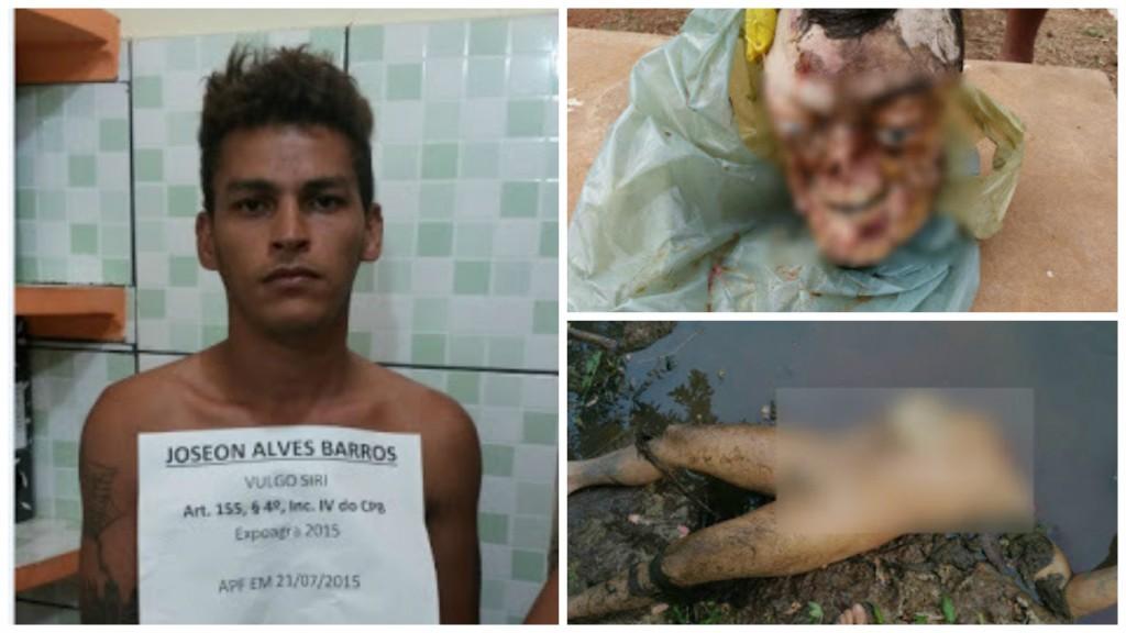 Estuprador foragido tem cabeça, mãos e pênis decepados em interior do Maranhão