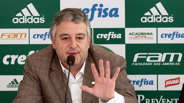 Presidente chama o Palmeiras de maior 'Robin Hood' do Brasileirão
