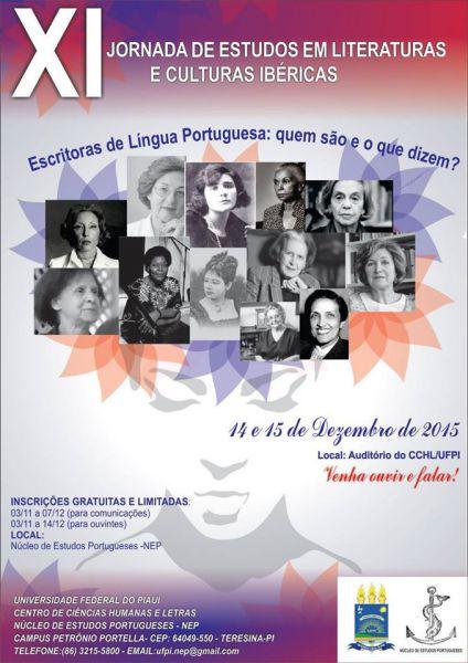 XI Jornada de Estudos em Literaturas e Culturas Ibéricas