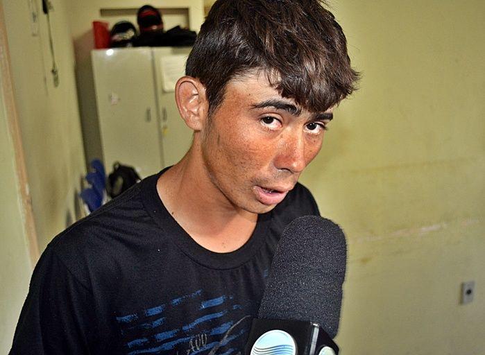 acusado de assassinar jovem a facadas em Cocal