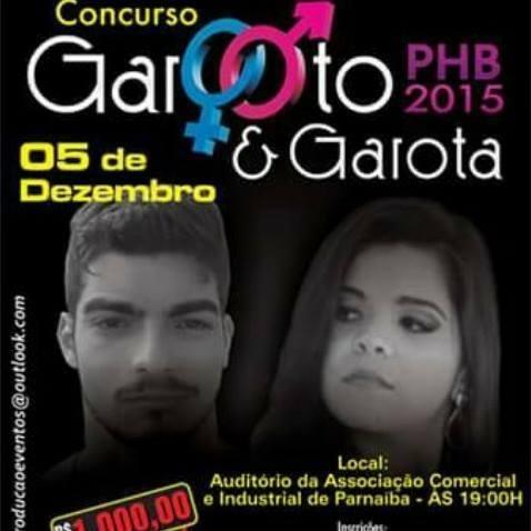 Concurso Garoto e Garota Parnaíba 2015