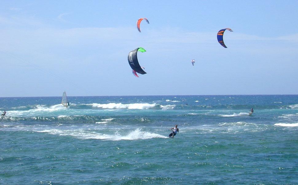 4 O surf de Kite