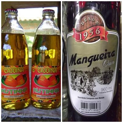 A cajuína e a cachaça mangueira