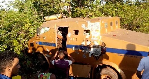 Sete pessoas foram presas durante operação 'Blindado' – Foto: Reprodução