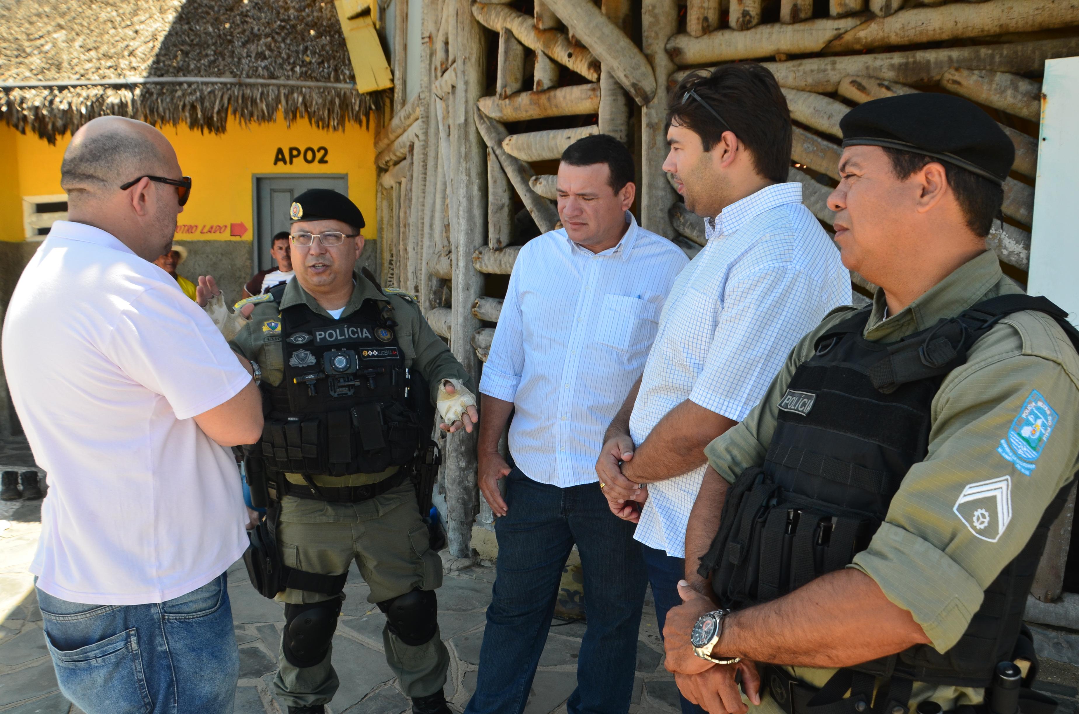 Forças de Segurança organizam operação para os eventos de fim de ano em Parnaíba
