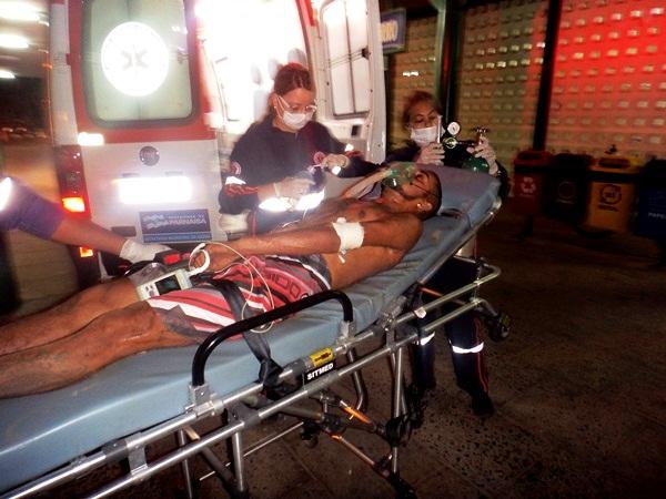 Filho de Policial Militar é baleado nas costas em Parnaíba