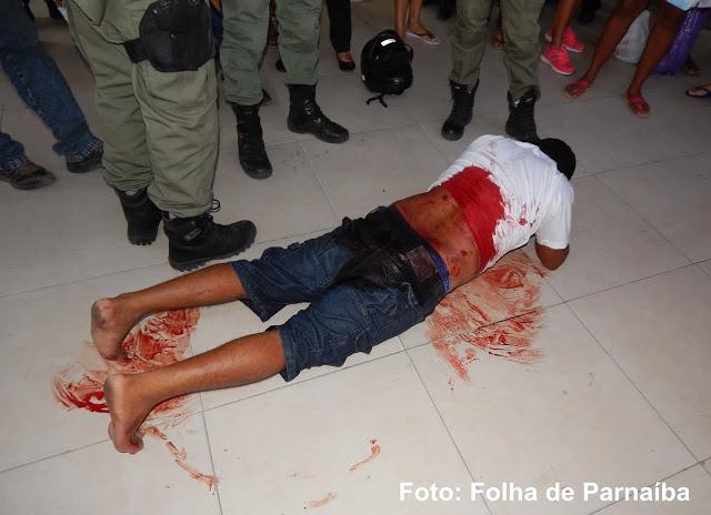 Homem é alvejado a tiros no Bairro Piauí em Parnaíba