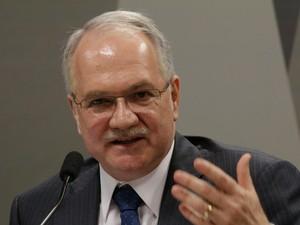 O ministro Luis Edson Fachin é o relator das ações do PC do B no Supremo (Foto: Joel Rodrigues/Frame/Estadão Conteúdo)