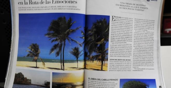 Revista estrangeira El Viajero enaltece litoral piauiense