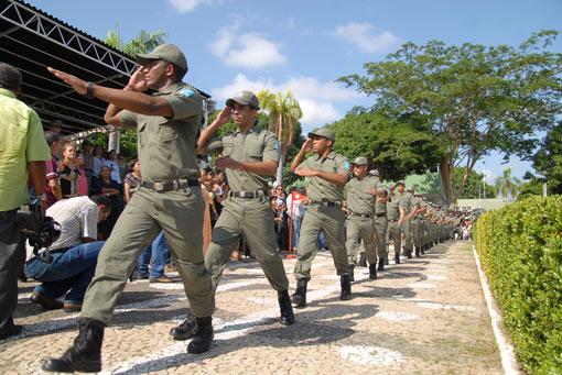 Governo convoca 342 classificados da PM para curso de Formação