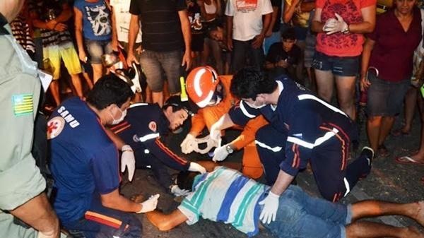 Homem embriagado atropela ciclista e acaba preso após se evadir do local em Parnaíba