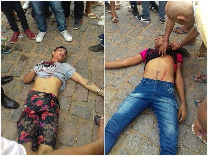 CRIME: Vídeo de briga que provocou mortes de dois jovens em Simões é divulgado na internet