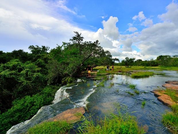 Conhecido pela seca, Piauí vira 'paraíso' das cachoeiras no período chuvoso