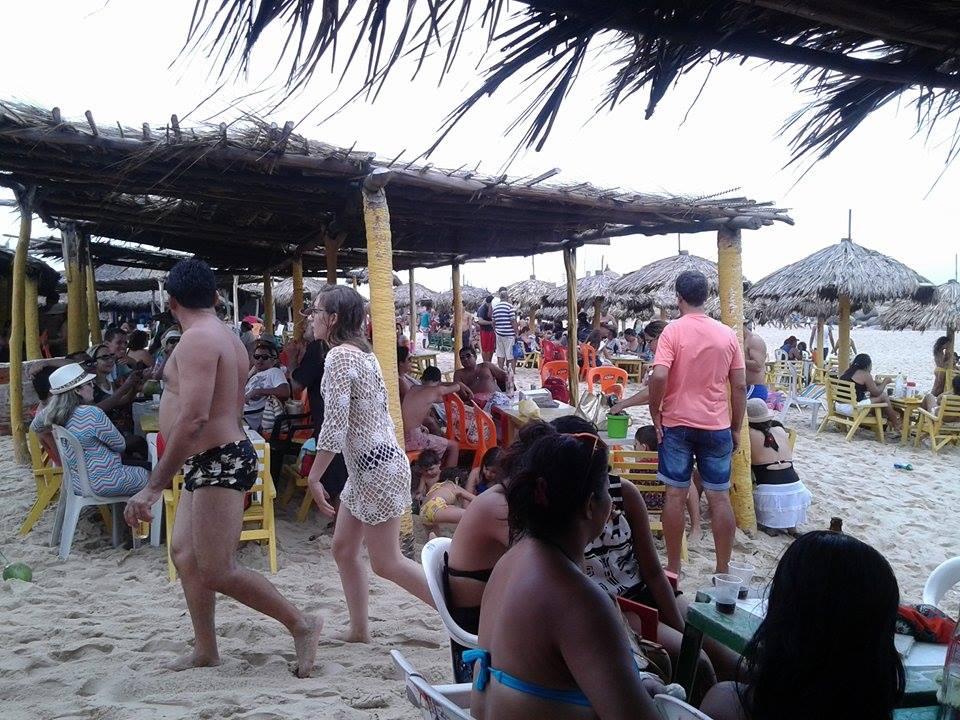 Mais de 100 mil turistas curtem a 'virada' no Litoral do Piauí