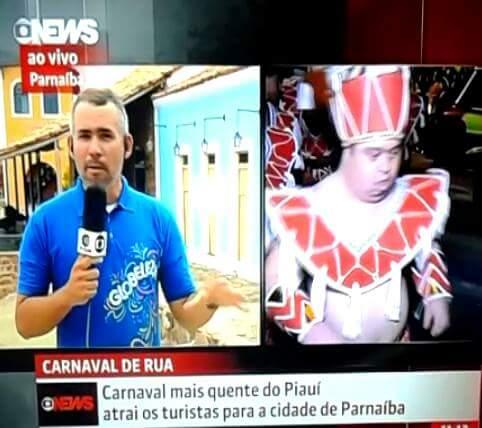 Carnaval de Parnaíba é destaque na Globo News