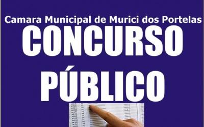 EXCLUSIVO: Câmara Municipal de Murici dos Portelas divulga Edital de Concurso Publico