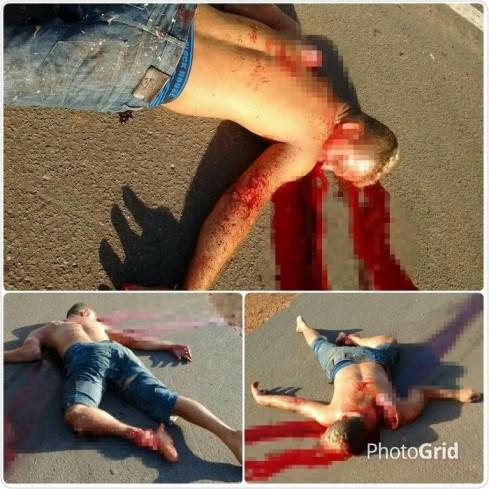 Jovem morre em acidente e fica com fratura exposta na BR-343_02