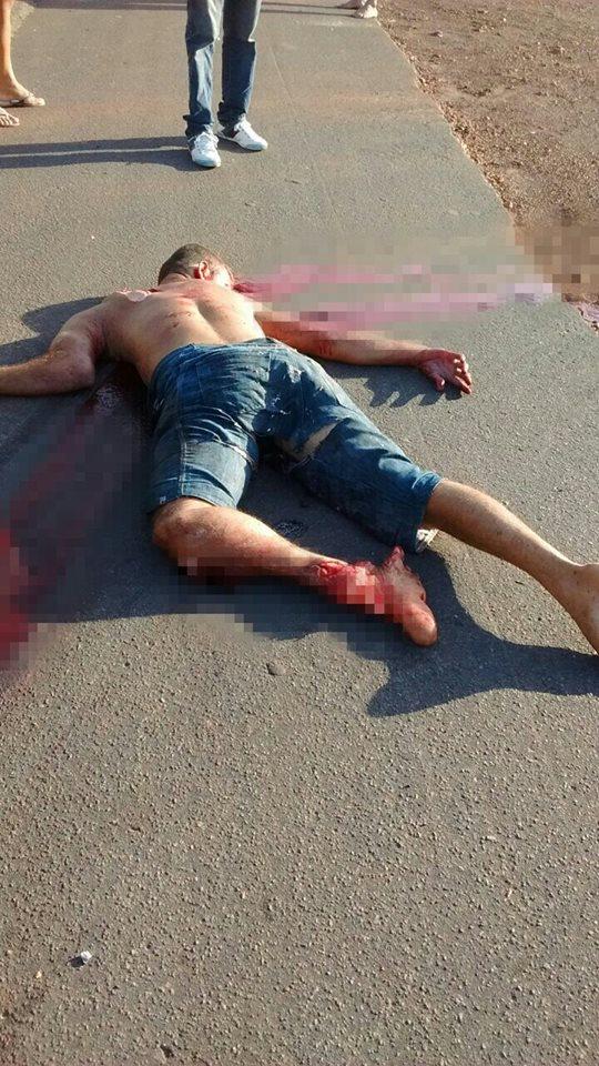 Jovem morre em acidente e fica com fratura exposta na BR-343_03