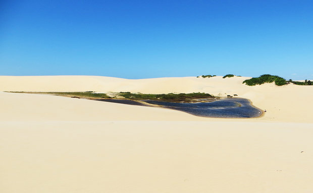 Parnaíba é repleta de lagoas e dunas