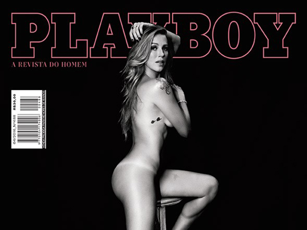 'Playboy' divulga as primeiras fotos oficiais da revista com Luana Piovani na capa