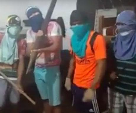 """Grupo de """"pirangueiros"""" divulga vídeo e faz ameaça à Polícia do Piauí"""