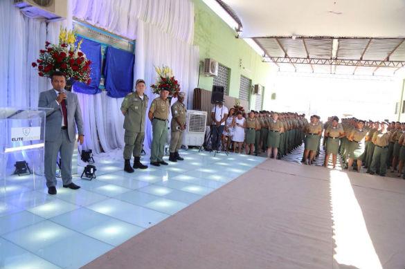 PM recebe um reforço de 323 novos policiais que atuarão na próxima semana em todo Piauí