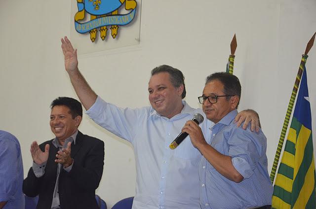 PR e PSDC realizam grande convenção em Parnaíba e confirmam apoio a Florentino Neto