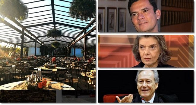 Empresa corrupta banca evento para Moro, Lewandowski e Cármen Lúcia em resort de luxo