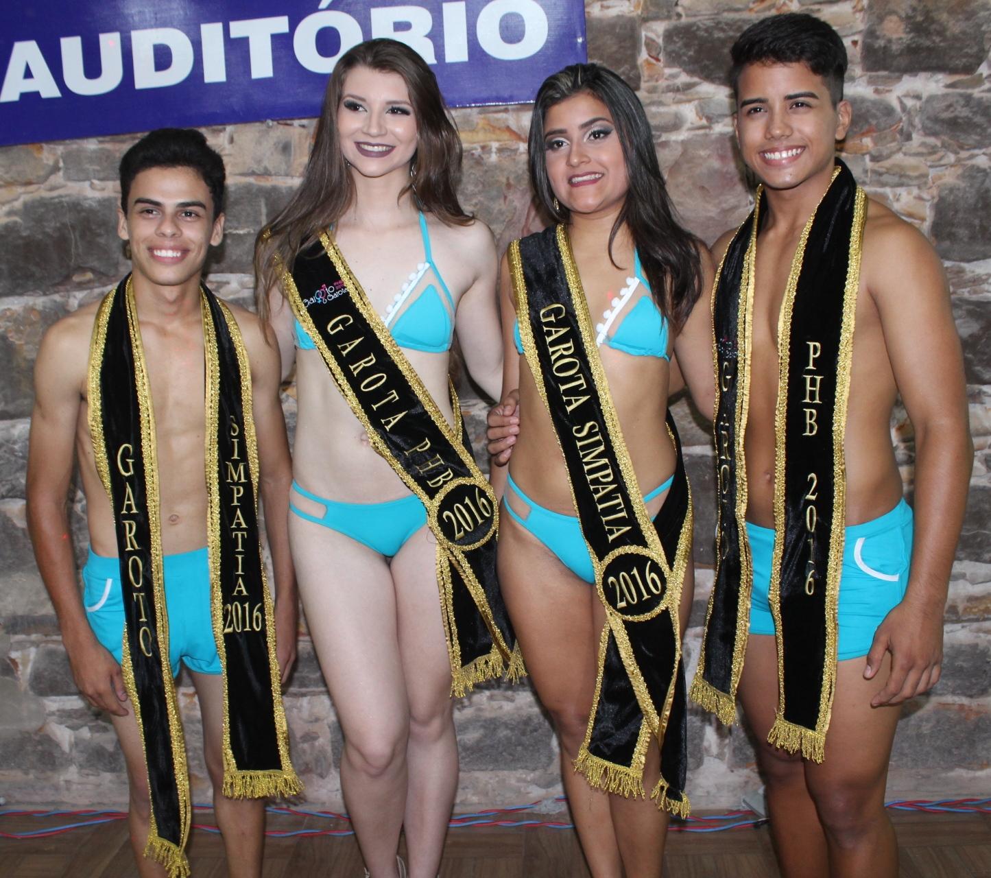 Veronica Luz e Vitor Oliveira são eleitos a Garota & Garoto PHB 2016
