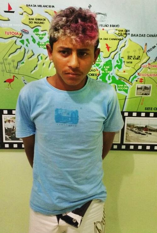 Jovem é preso em fuga após assalto, em Luís Correia