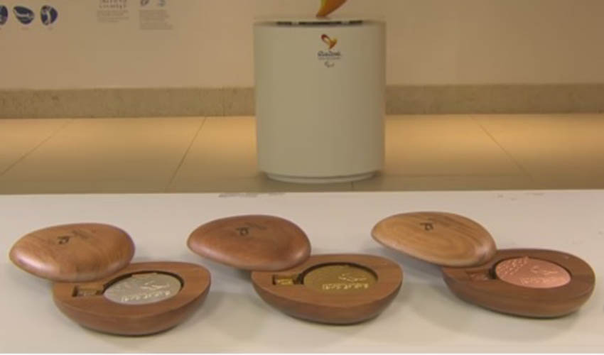 Medalhas olímpicas da Rio 2016 apresentam sinais de ferrugem