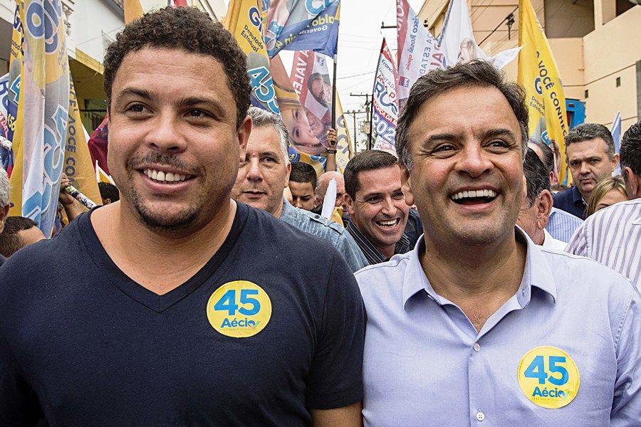 Cabo eleitoral de Aécio em 2014, Ronaldo se diz 'decepcionado'