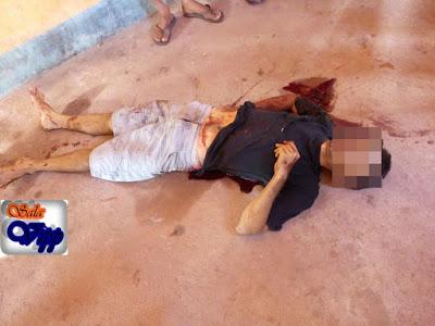 Homem é assassinado com tiro de espingarda e facadas no povoado Pirangi, município de Araioses-MA