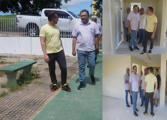 Em visita, secretário Florentino Neto inicia planejamento para reabertura do Hospital de Buriti dos Lopes