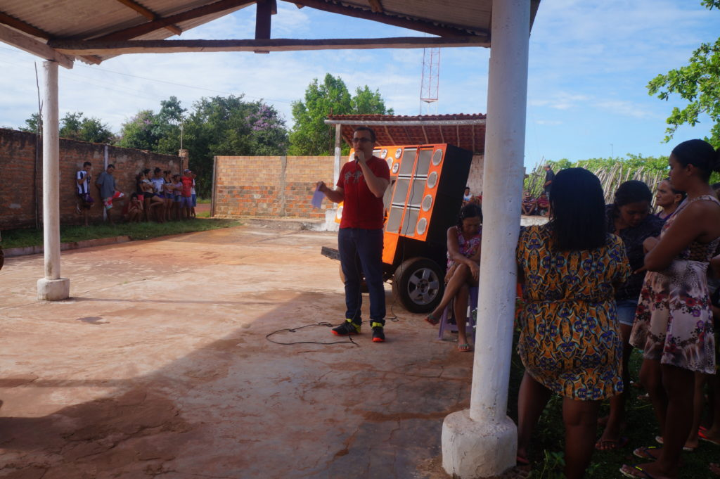 Junior Percy anuncia abastecimento de água para comunidade São Domingos, em Buriti dos Lopes