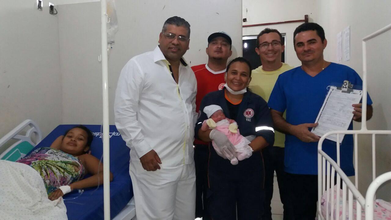 Equipe do Pronto Socorro Municipal de Buriti dos Lopes realiza parto com sucesso