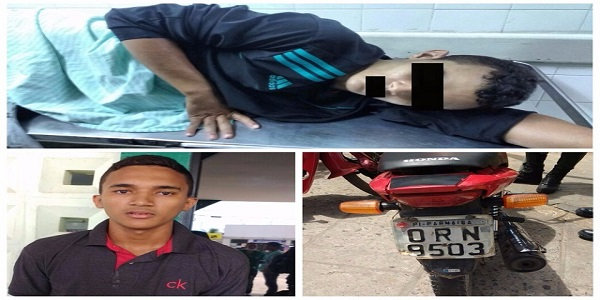 Adolescente é baleado durante assalto, em Parnaíba