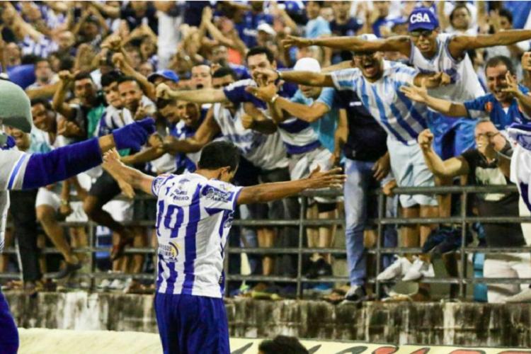 Parnahyba perdeu para o CSA na seletiva da Copa do Nordeste
