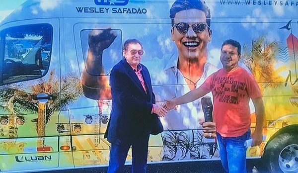 Wesley Safadão será condecorado com a Medalha do Mérito Municipal pelo Prefeito Mão Santa