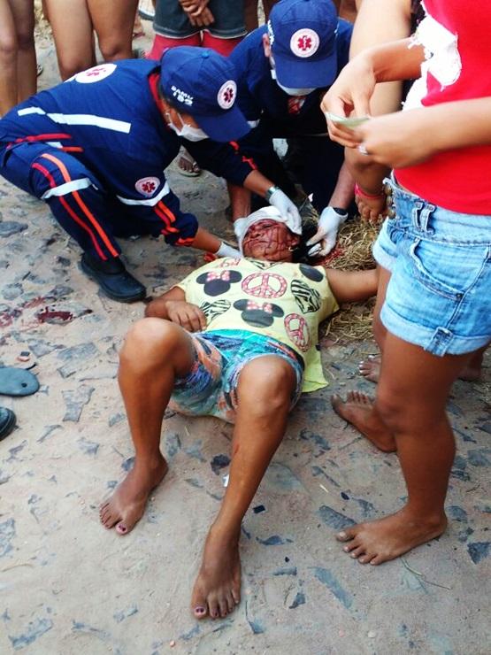 Mulher tentar matar rival com pedradas na cabeça em Parnaíba
