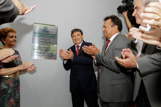 Governador Wellington Dias inaugura a nova Central de Flagrantes de Parnaíba