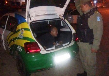 CIPTur prende acusado de tráfico em Luís Correia