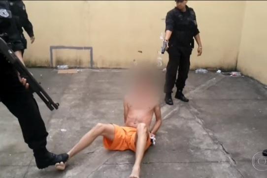 Imagens de choques em presos resulta em punições contra agentes