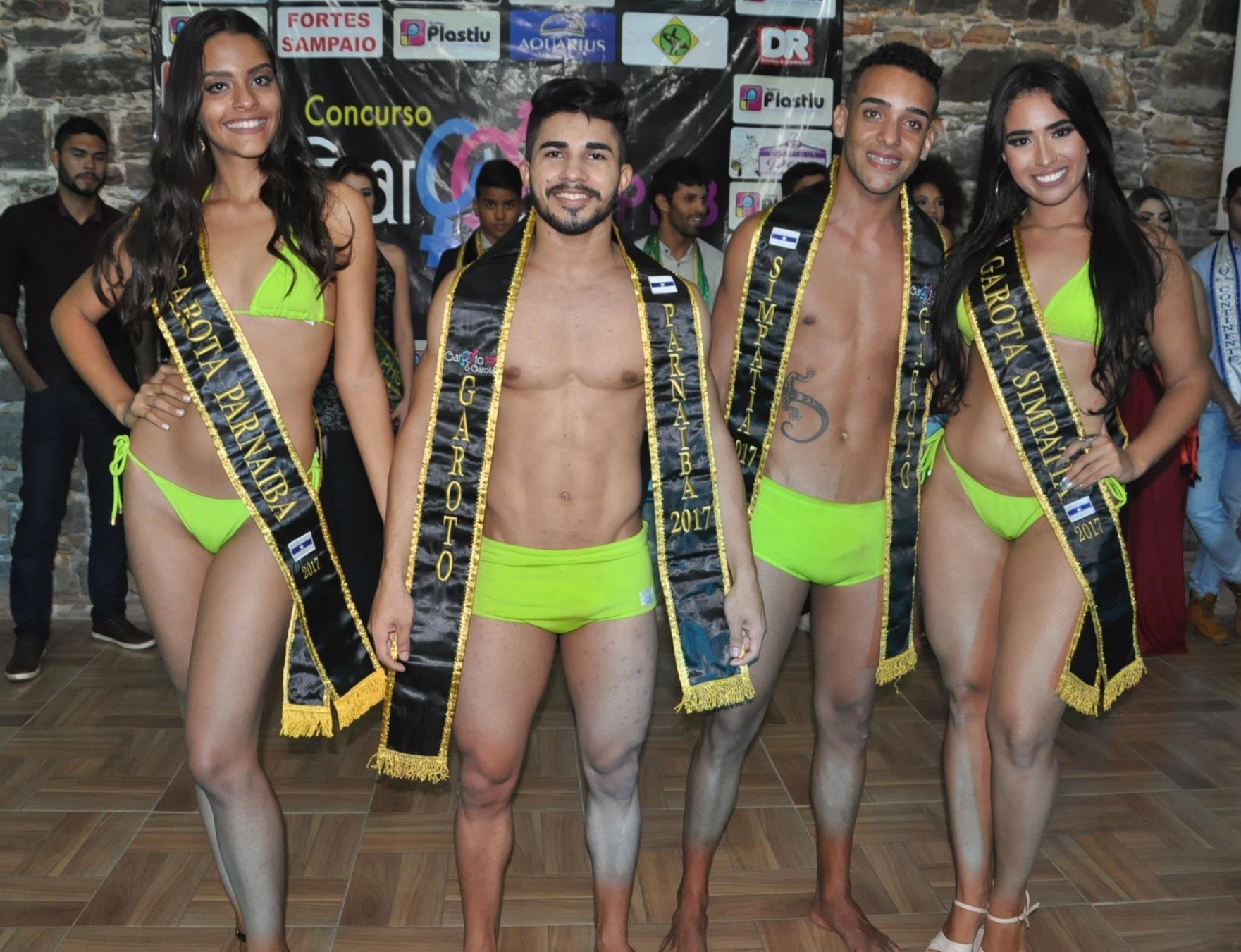 Quézia Diniz e Kassyo Leão, vencem o Concurso Garoto & Garota PHB 2017