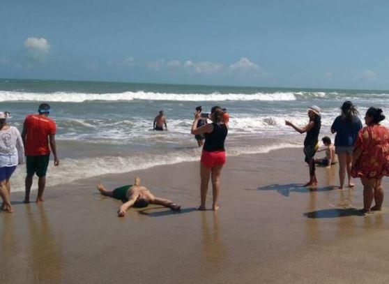 Pacientes psiquiátricos veem pela primeira vez o mar